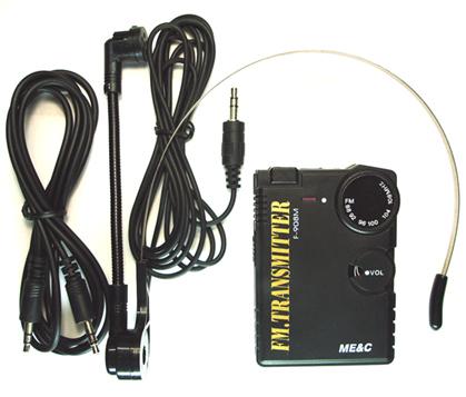 bh1417f bp机式锁相环调频发射器(调频立体声发射机,头戴麦)