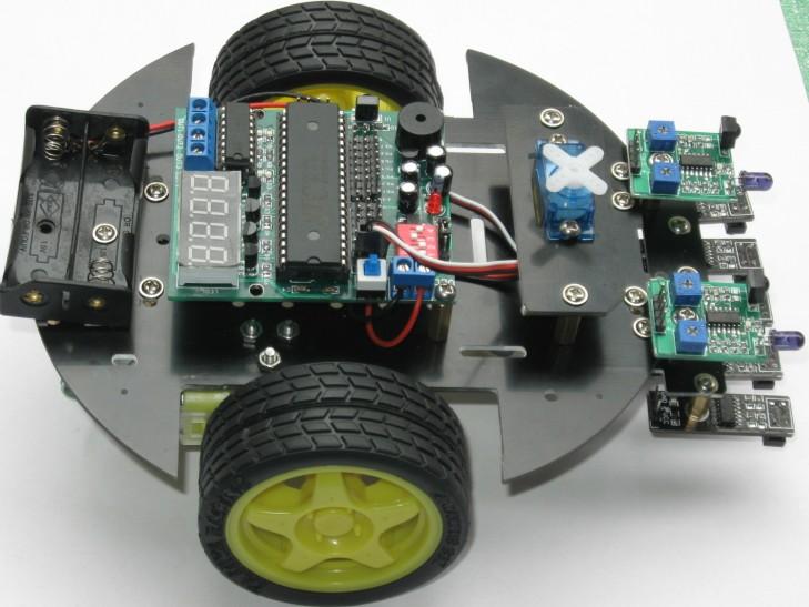 智能小车 51单片机学习 c51智能小车 小车车体