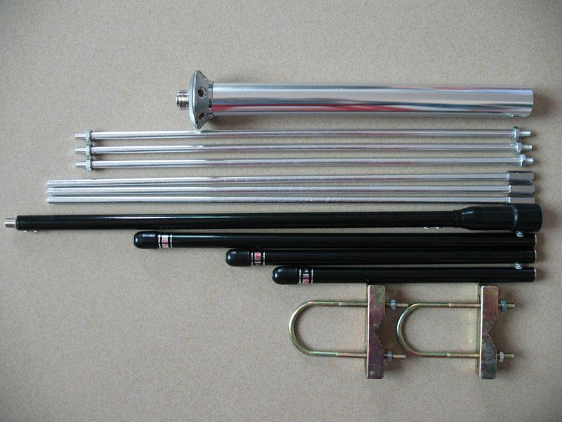 gp-3型1/4波长铝合金fm调频发射天线/工程天线/87-108