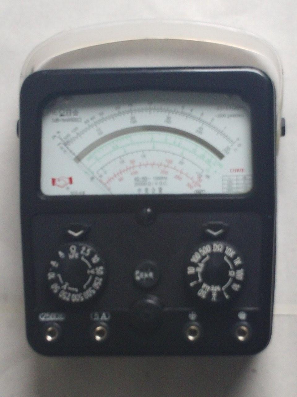 正品上海第四电表厂星牌mf500/mf-500型指针万用表(内
