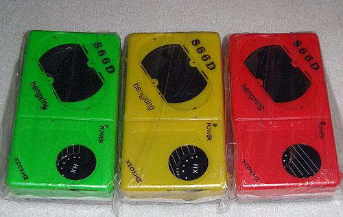 恒兴牌s66型袖珍六管调幅收音机电路电子制作套件