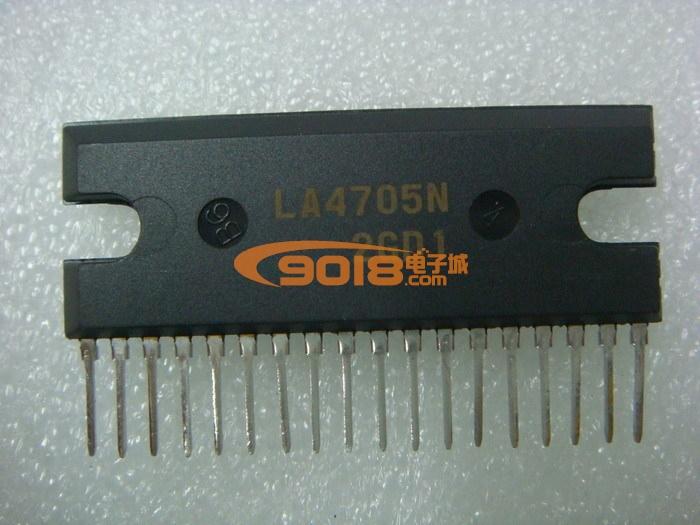集成电路 系列ic la系列 全新原装集成块la4705n