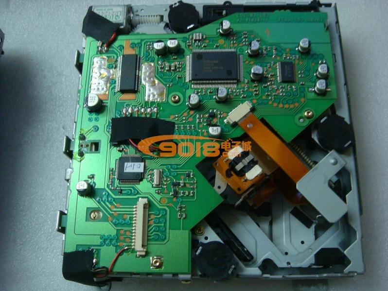全新原装车载jvc激光头 opt-715 整套机芯带伺服板