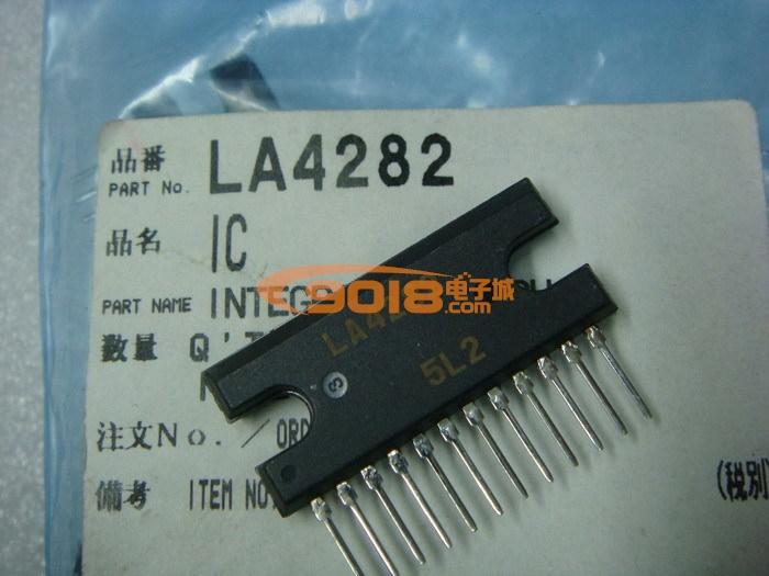 集成电路 系列ic la系列 全新原装集成块 la4282  添加到收藏夹查看