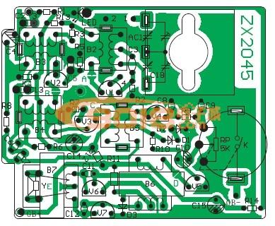 zx2062收音机电路板图