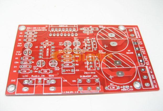 tda7294 1.0低音炮板pcb