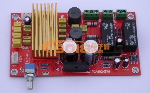 发烧音响 发烧电路 功放板 tda8920高性能d类双声道数字功放板/音频放