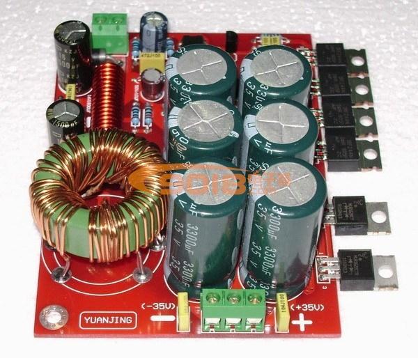 180w汽车功放升压开关电源板(单12v转正负双±32v输出