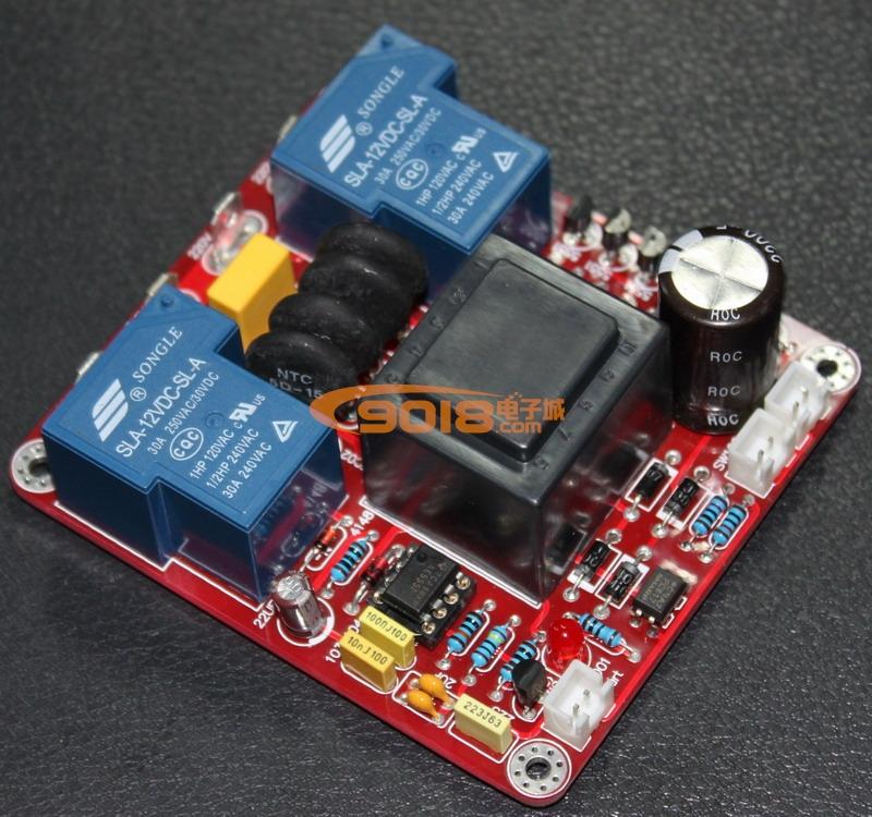 发烧音响 发烧电路 过热保护板 甲类电源延时开关温度保护板(110v
