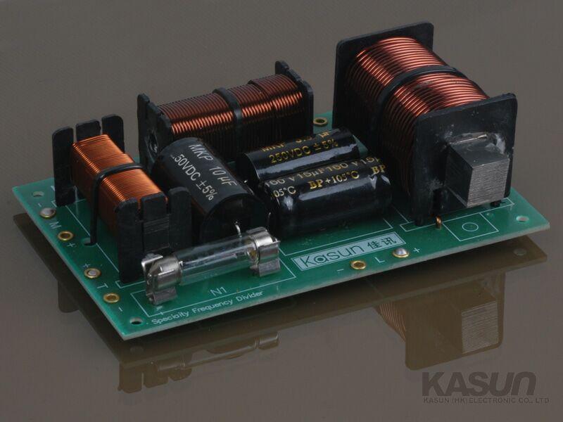 发烧音响 分频器 三分频系列 佳讯(kasun)lop-370c 350w专业三分频器