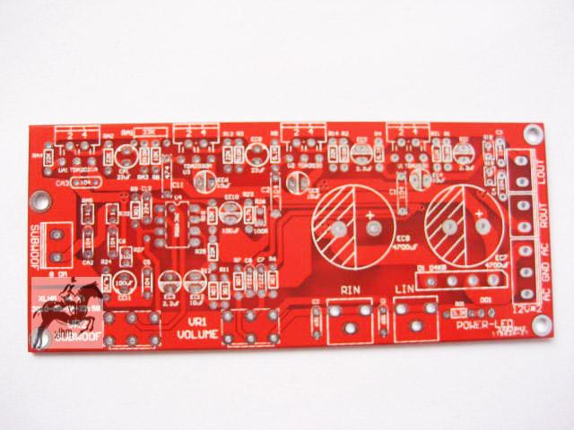 tda2030a 2.1低音炮功放板套件(成品)