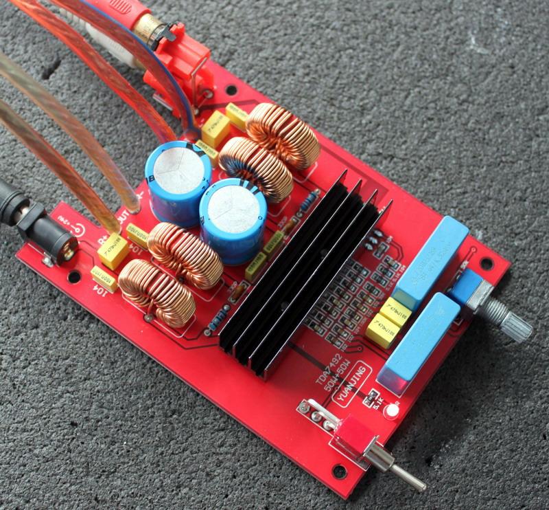 发烧电路 功放板 tda7492高性能d类数字功放成品板 50w双声道  n  pcb