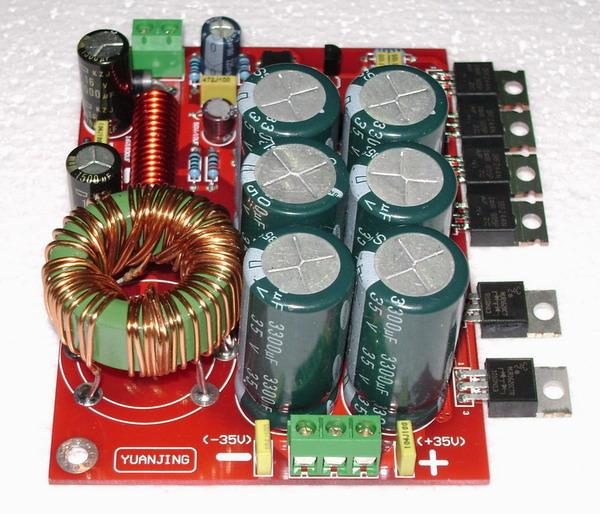 00 500w单直流dc12v转双直流dc±45v升压电源板(适用汽车功放等) 市场图片