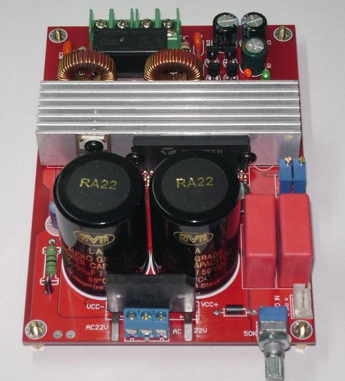 发烧音响 发烧电路 功放板 ta2022 90w双声道高保真数字功放板(改进型