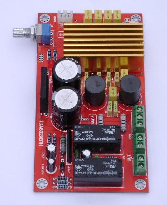 tda8920 100w d类数字功放板(升级板 带双继电器喇叭保护)