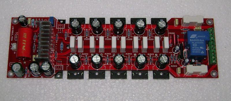 银力sa608 音响电路板接线焊接图