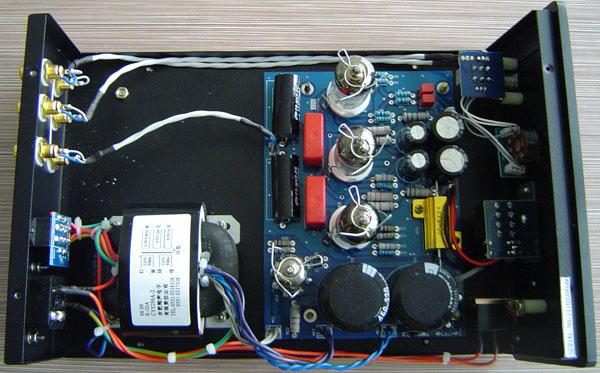 翔声708b电子管耳机放大器兼前级