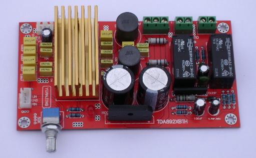 发烧电路 功放板 tda8920高性能d类双声道数字功放板