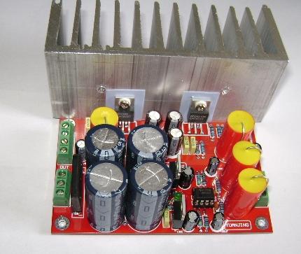 发烧音响 发烧电路 功放板 lm1875 ne5532双声道发烧功放板