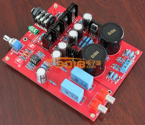 德国莱曼 lehmann 电路设计 发烧耳机放大器电路 耳放 成品板 豪华型 图片