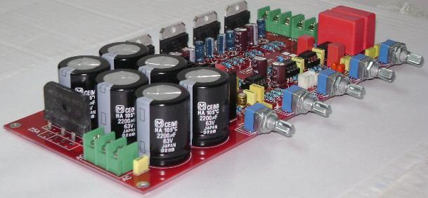 发烧音响 发烧电路 功放板 tda7294大功率豪华发烧功放板 2.