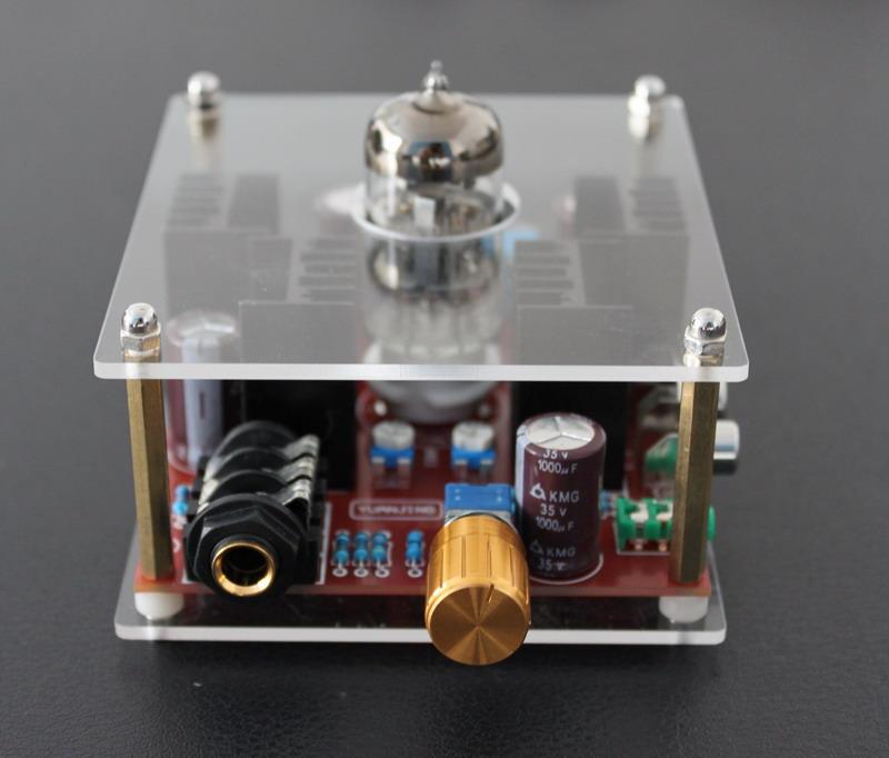发烧音响 发烧电路 前级板 6n11电子管耳机放大板 胆耳放 成品板