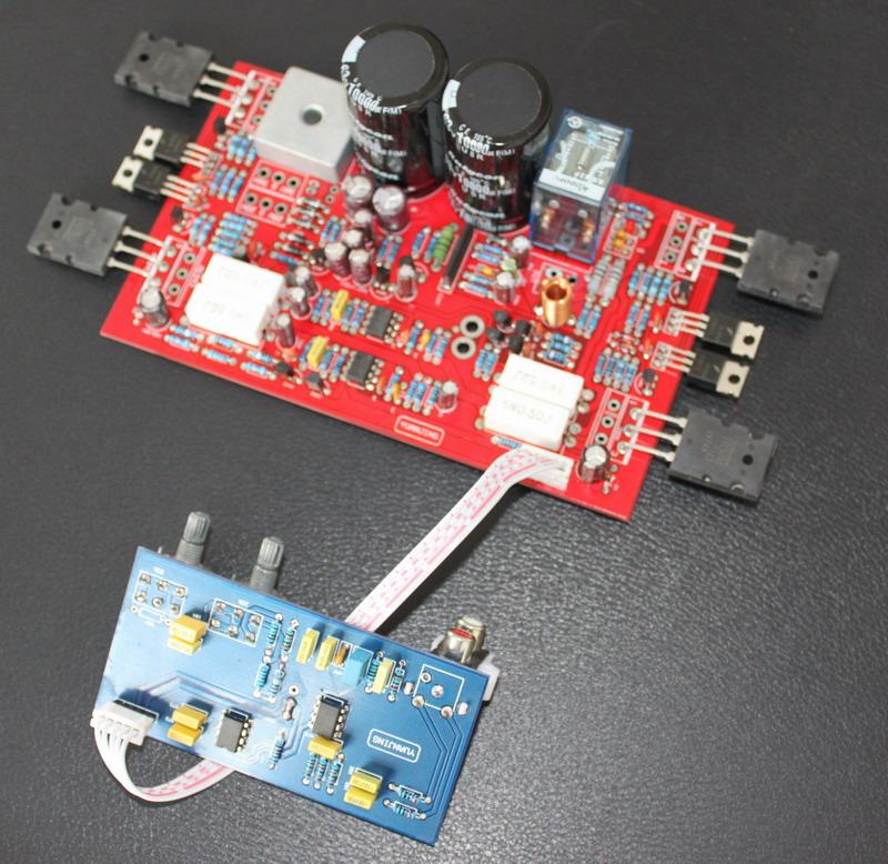 低音炮功放板 成品板高清图片