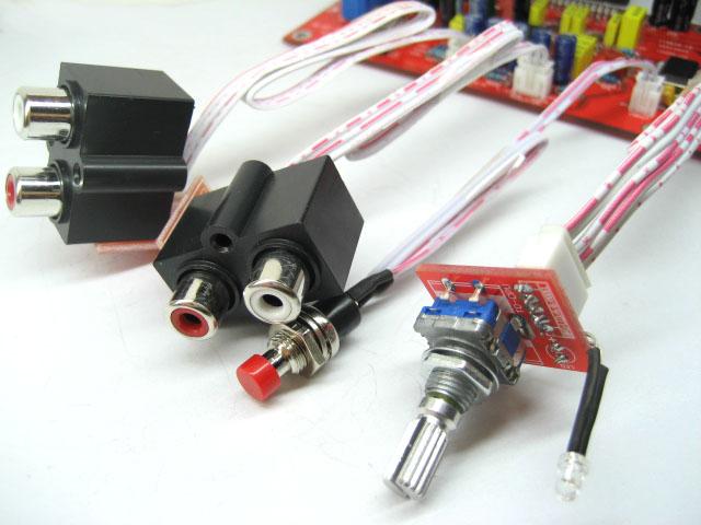 tda7388四声道功放板散件套件