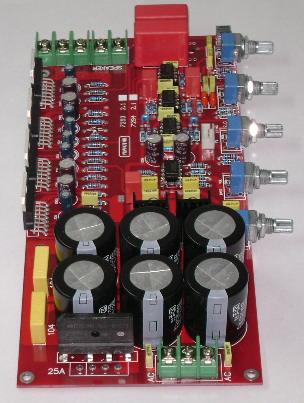 tda7294大功率豪华发烧功放板 2.1声道 160w低音炮