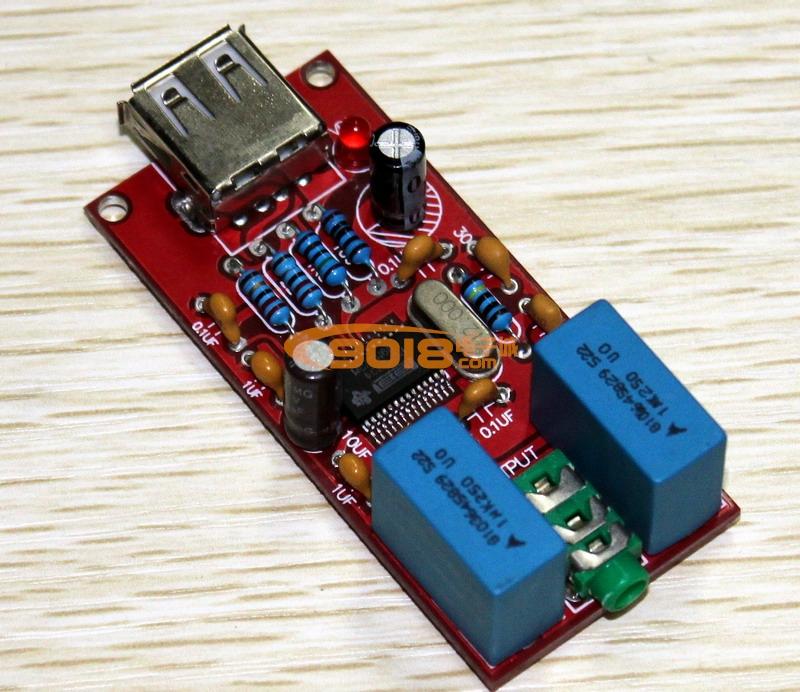 发烧音响 发烧电路 功放板 usb dac pcm2704 hifi  pcm2704芯片解码器
