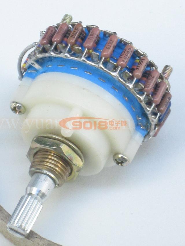50k/100k 23档步进式单联单声道电位器(dale电阻)