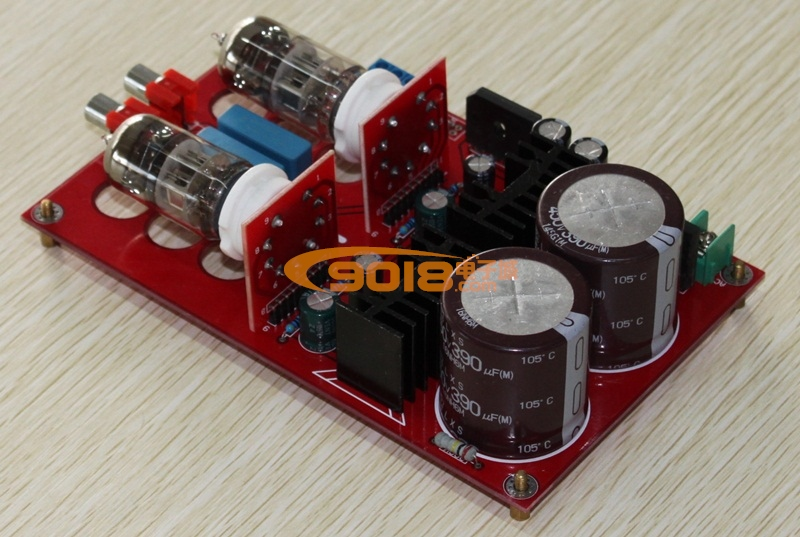 发烧音响 发烧电路 前级板 极品6n11电子管前级放大板 胆机前级板