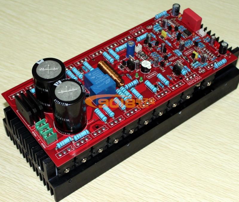 发烧音响 发烧电路 功放板 700w单声道大功率专业发烧功放板 东芝a