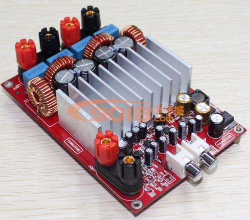 发烧音响 发烧电路 功放板 tas5630高性能双声道大功率d类数字功放板