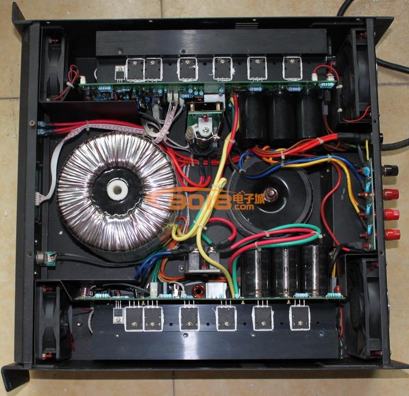 发烧音响 发烧电路 功放板 1000w大功率专业舞台功放板 成品板 单声道