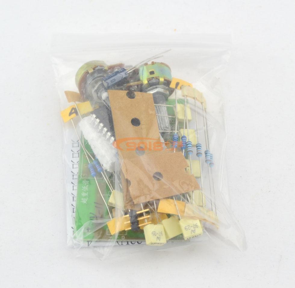 发烧电路 低通滤波板 tl084前级音调超重低音板
