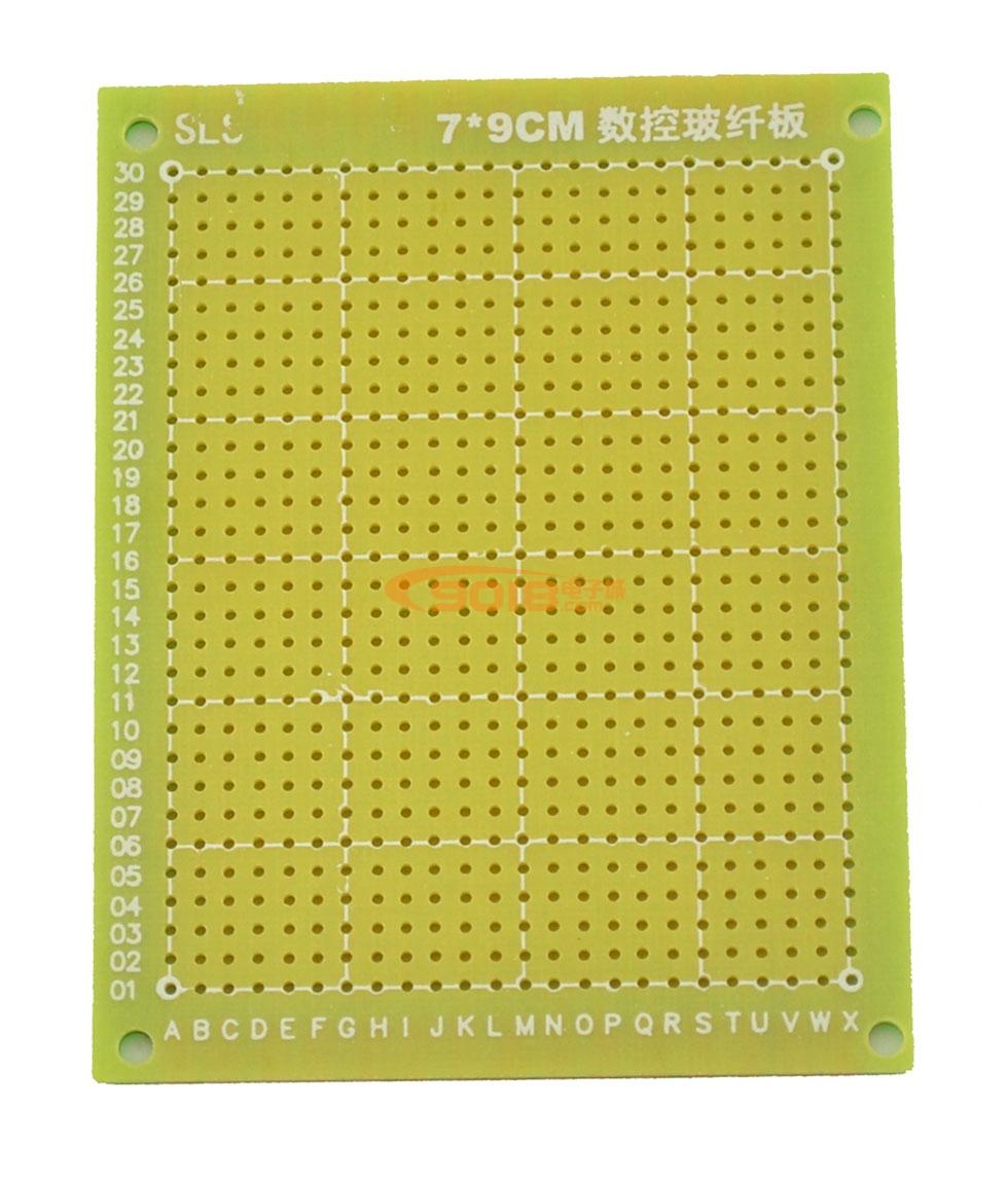 高级优质绿油单面环氧玻纤pcb万能电路板/面包板/万用