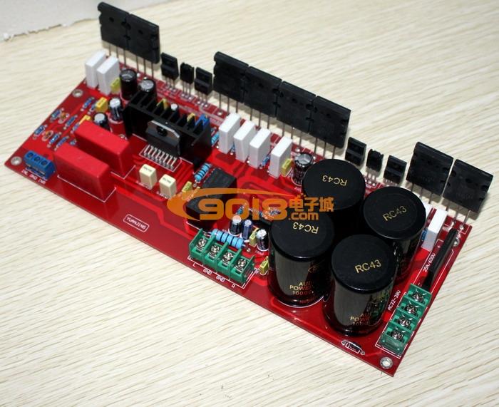 发烧音响 发烧电路 功放板 原装lm4702 tt1943/tt5200对管分立式