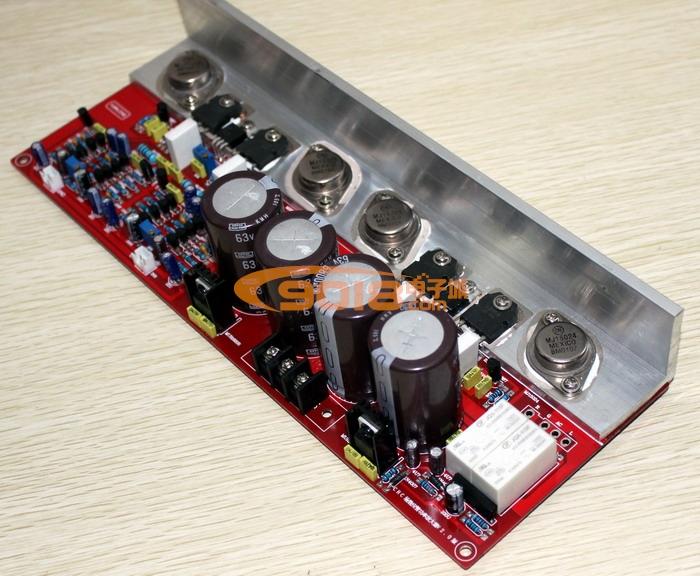 发烧音响 发烧电路 功放板 仿天龙pma-s1甲类/甲乙类场效应对管2sk295
