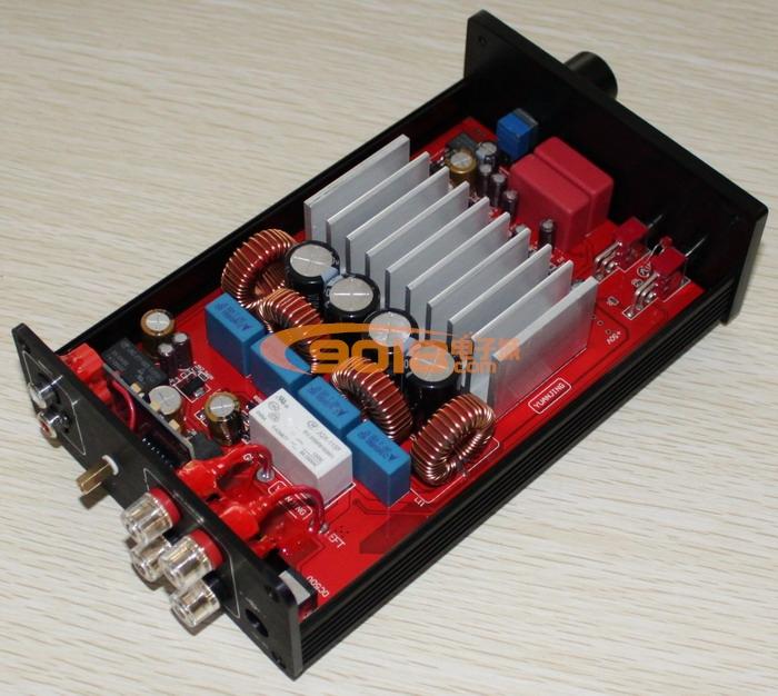 tas5630高性能双声道大功率d类数字功放机(250w 250w)
