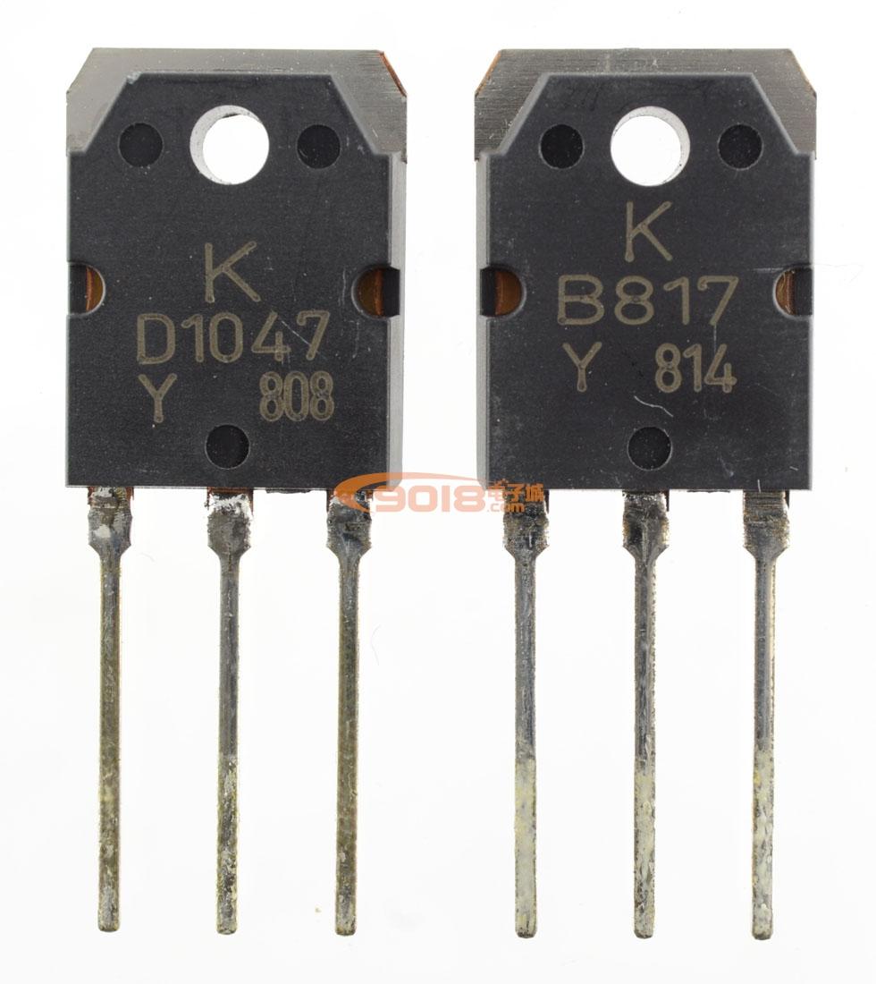 全新原装正品kec大功率功放对管 ktb817/d1047