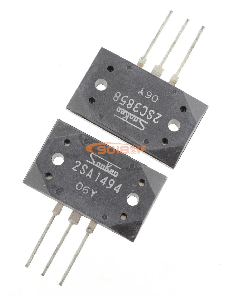 全新原装正品三肯大功率音频功放对管 2sa1494/2sc3858