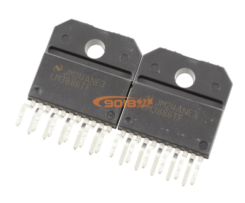 关于lm3886tf功放电路图的问题;