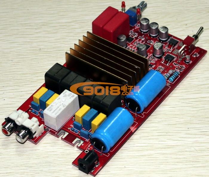 发烧音响 发烧电路 功放板 高品质tda7498 a1高性能高保真d类数字功放