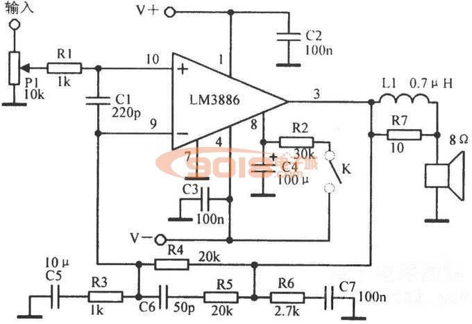 集成电路 系列ic lm系列 全新原装激光暗字国半ns lm3886tf 音频功放