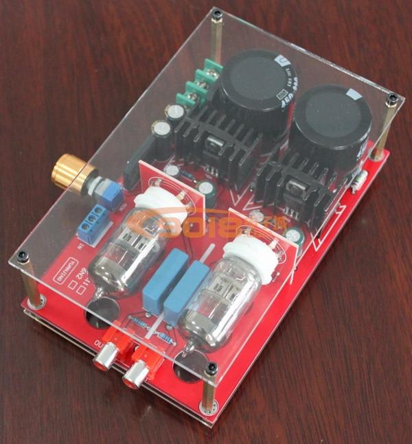 6n2胆前级、fu7单端功放电路图