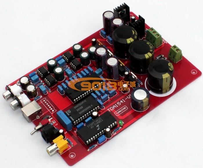 发烧音响 发烧电路 dac解码板 原装tda1541 saa7220 cs8412 ne5534