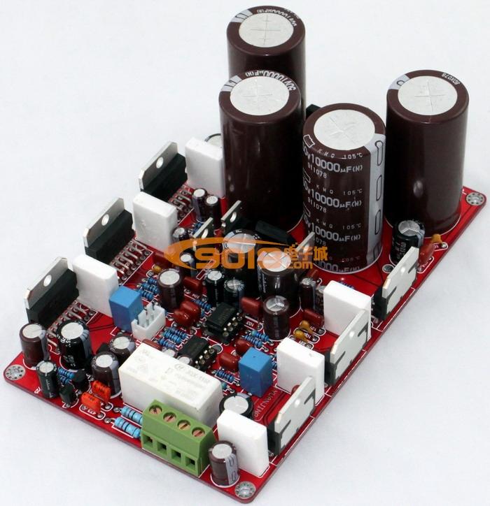 发烧音响 发烧电路 功放板 高保真tda7293并联双声道(立体声)大功率