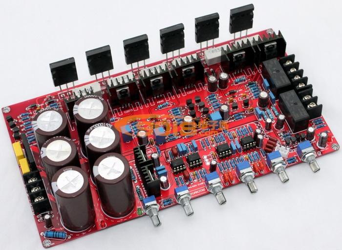 发烧音响 发烧电路 功放板 六管tt1943/tt5200分立件2.