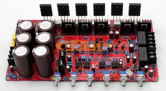 1声道低音炮高保真功放板